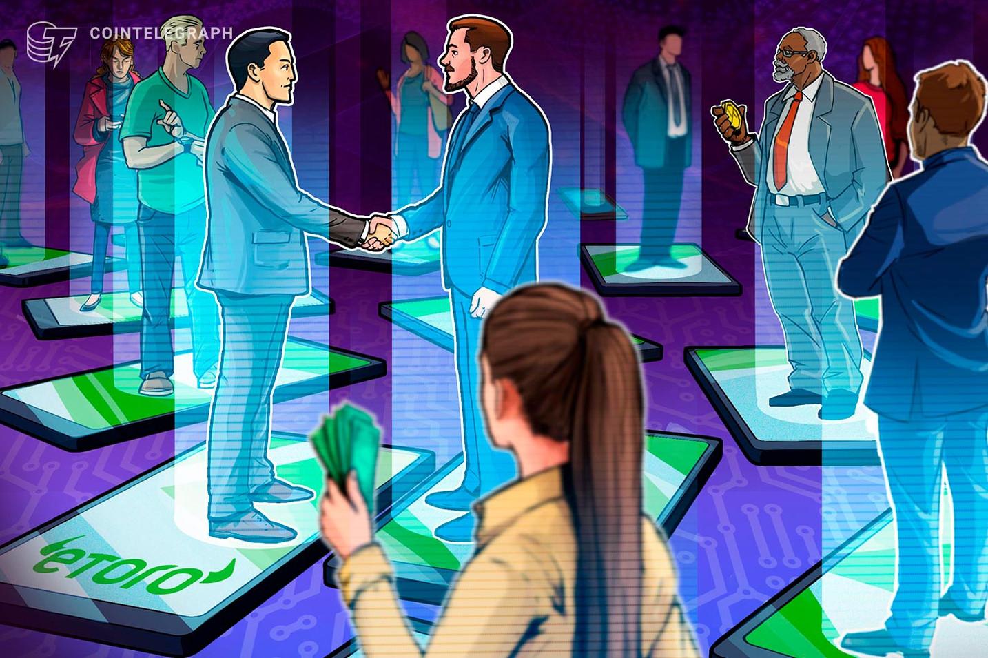 Plataforma de negociação eToro se tornará pública por meio da fusão SPAC de US$ 10B
