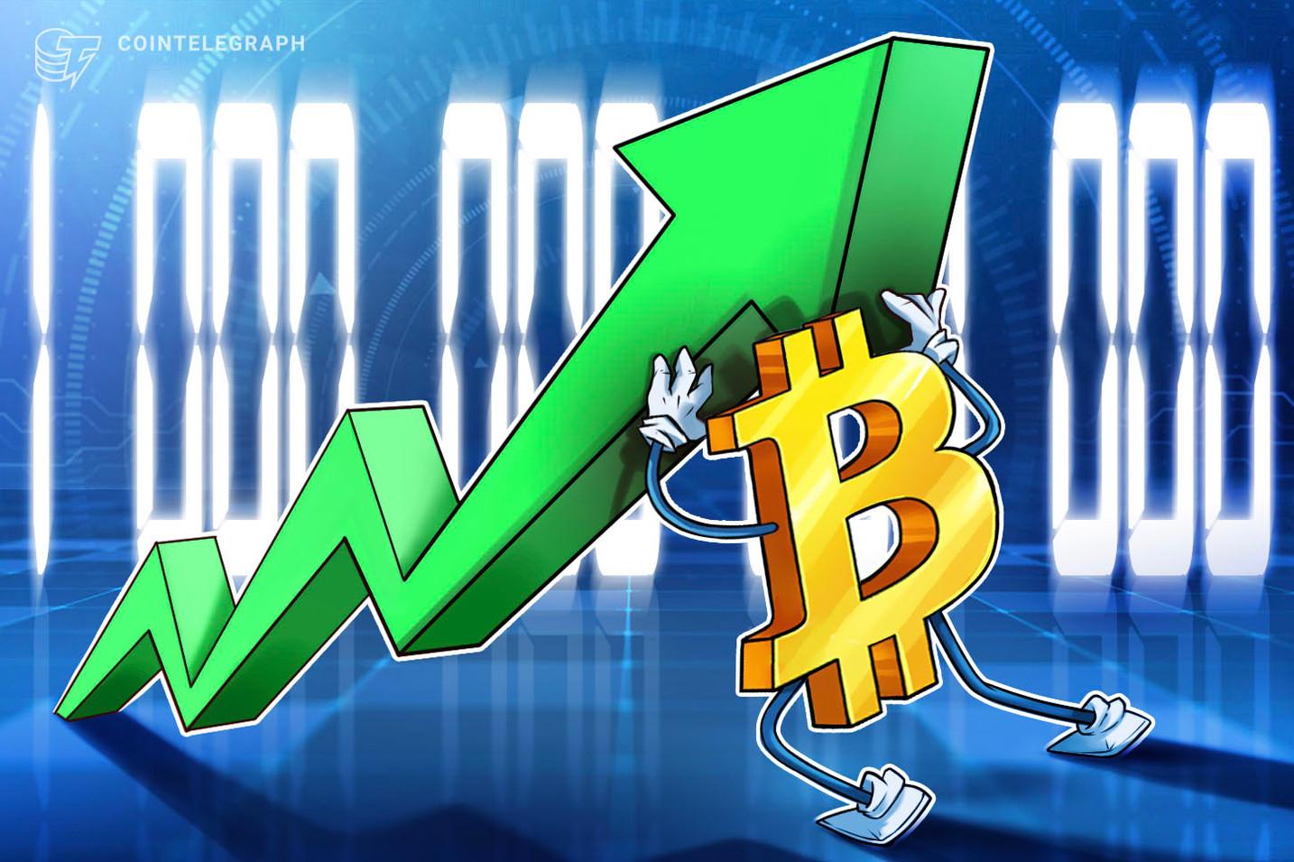 La capitalización de mercado de 1 billón de dólares de Bitcoin se ha mantenido durante 10 días seguidos