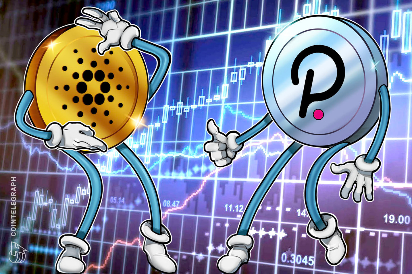 Cardano and Polkadot extend staked capitalization dominance