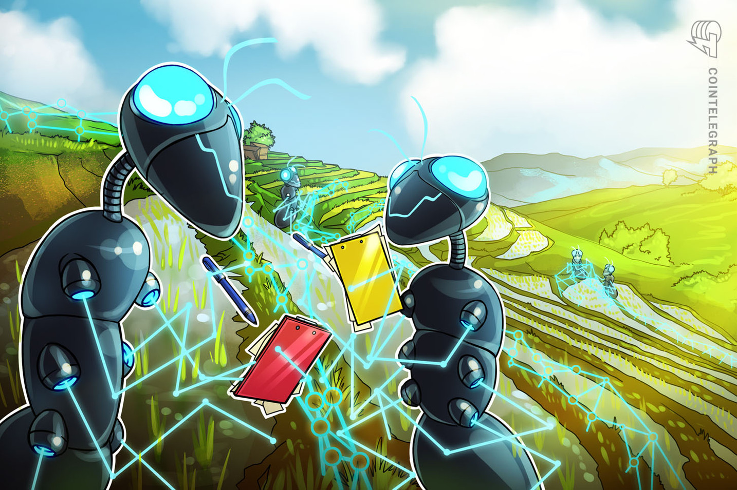 Poor infrastructure stops farmers from taking advantage of blockchain