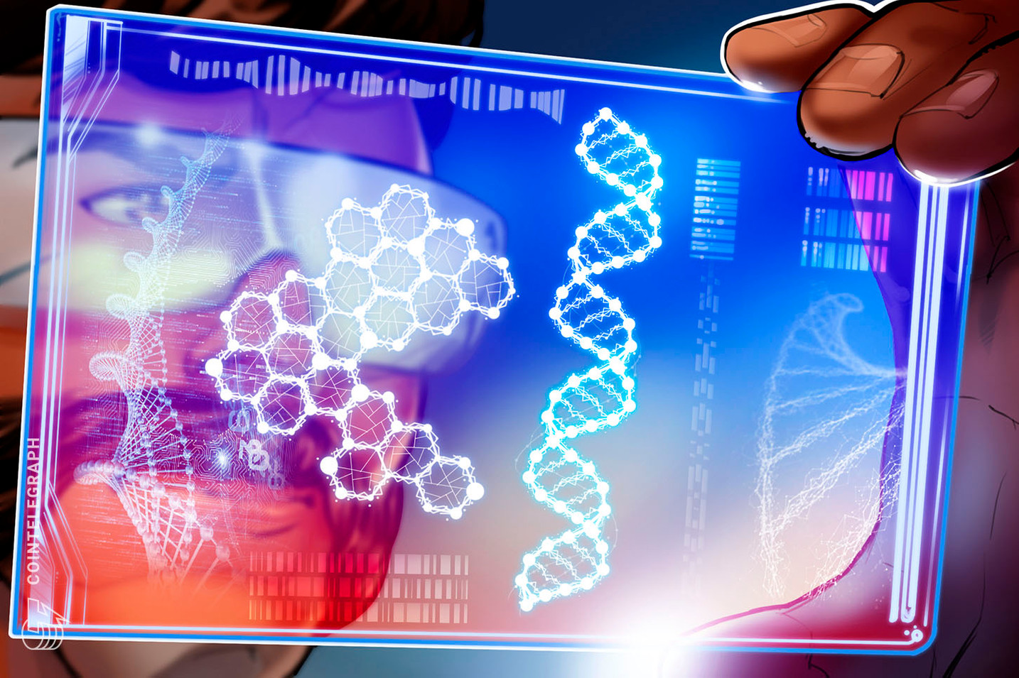 It was only a matter of time — Some NFTs now have human DNA sequences