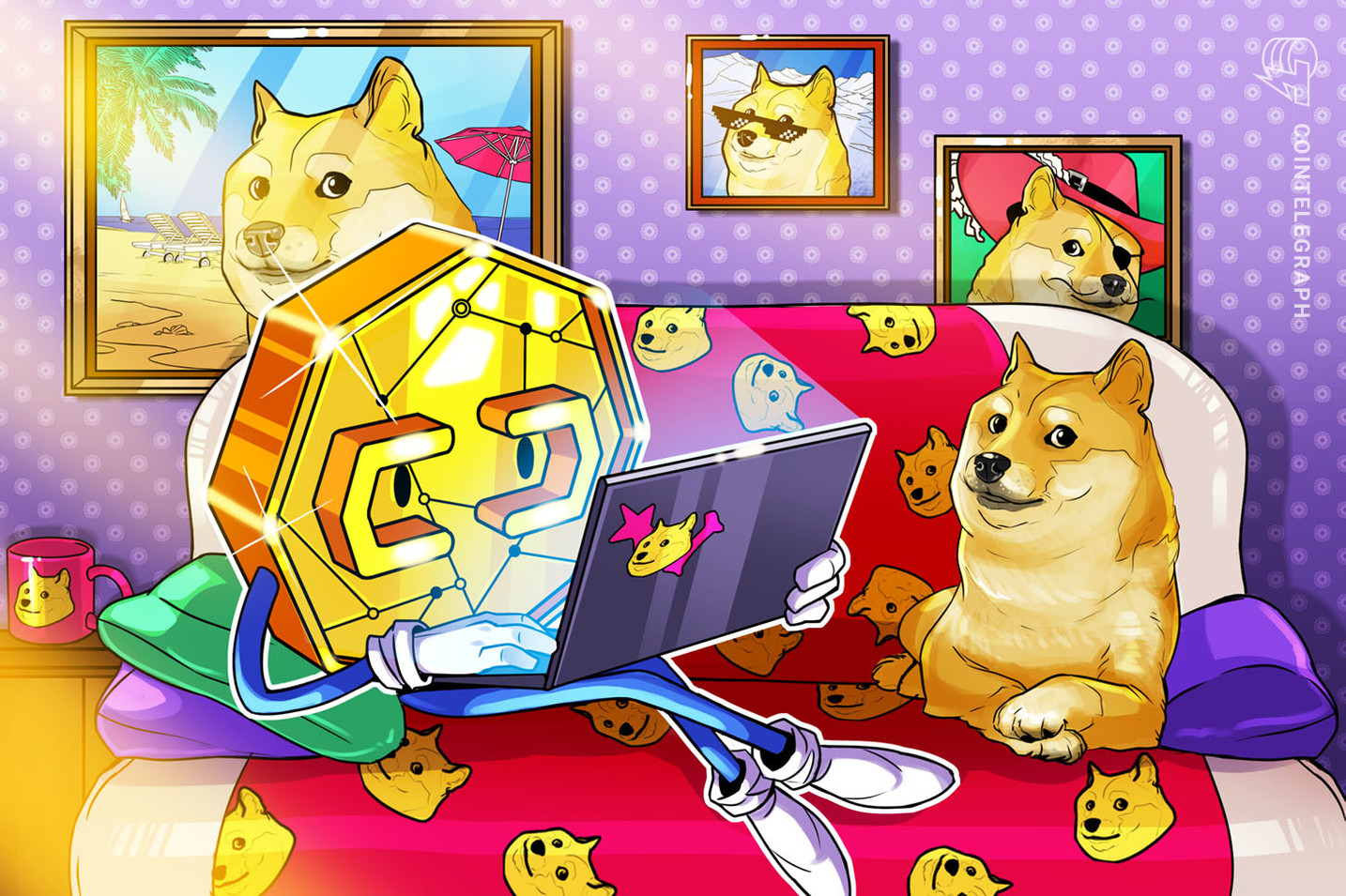 Hot DOGE nips at the heels of r/Bitcoin on Reddit
