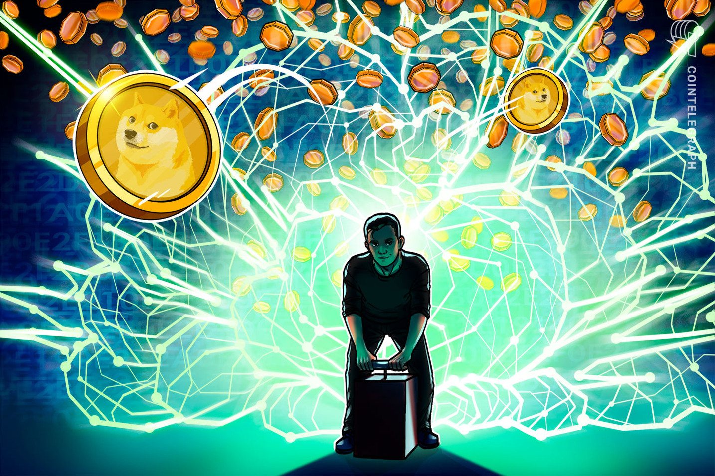 Nova era de altcoins? As liquidações do Dogecoin superam brevemente as do Bitcoin