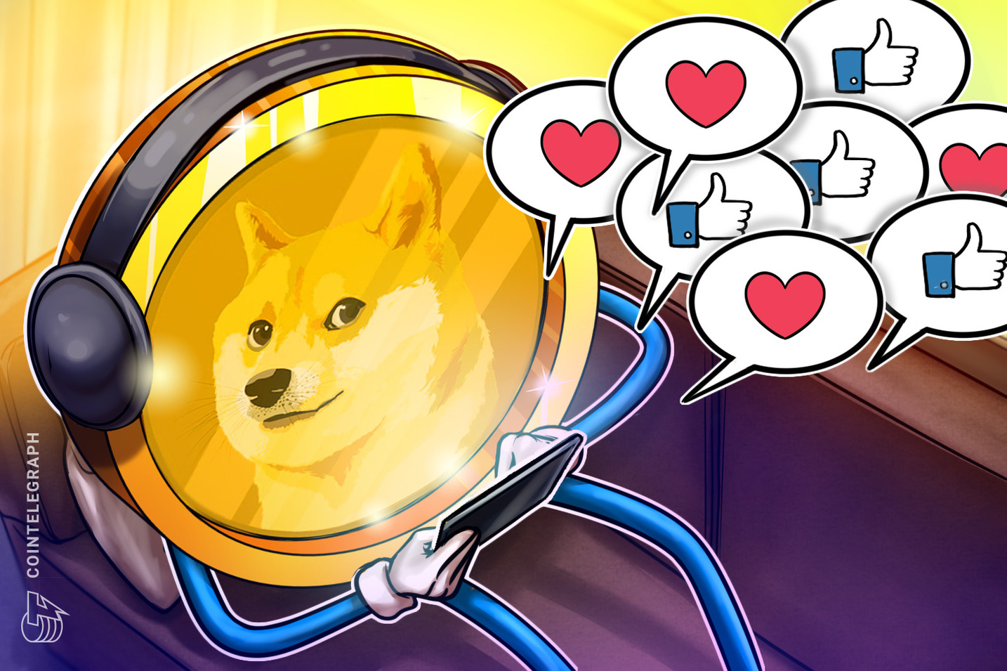 People seem to have forgotten that Dogecoin fans have always been lit