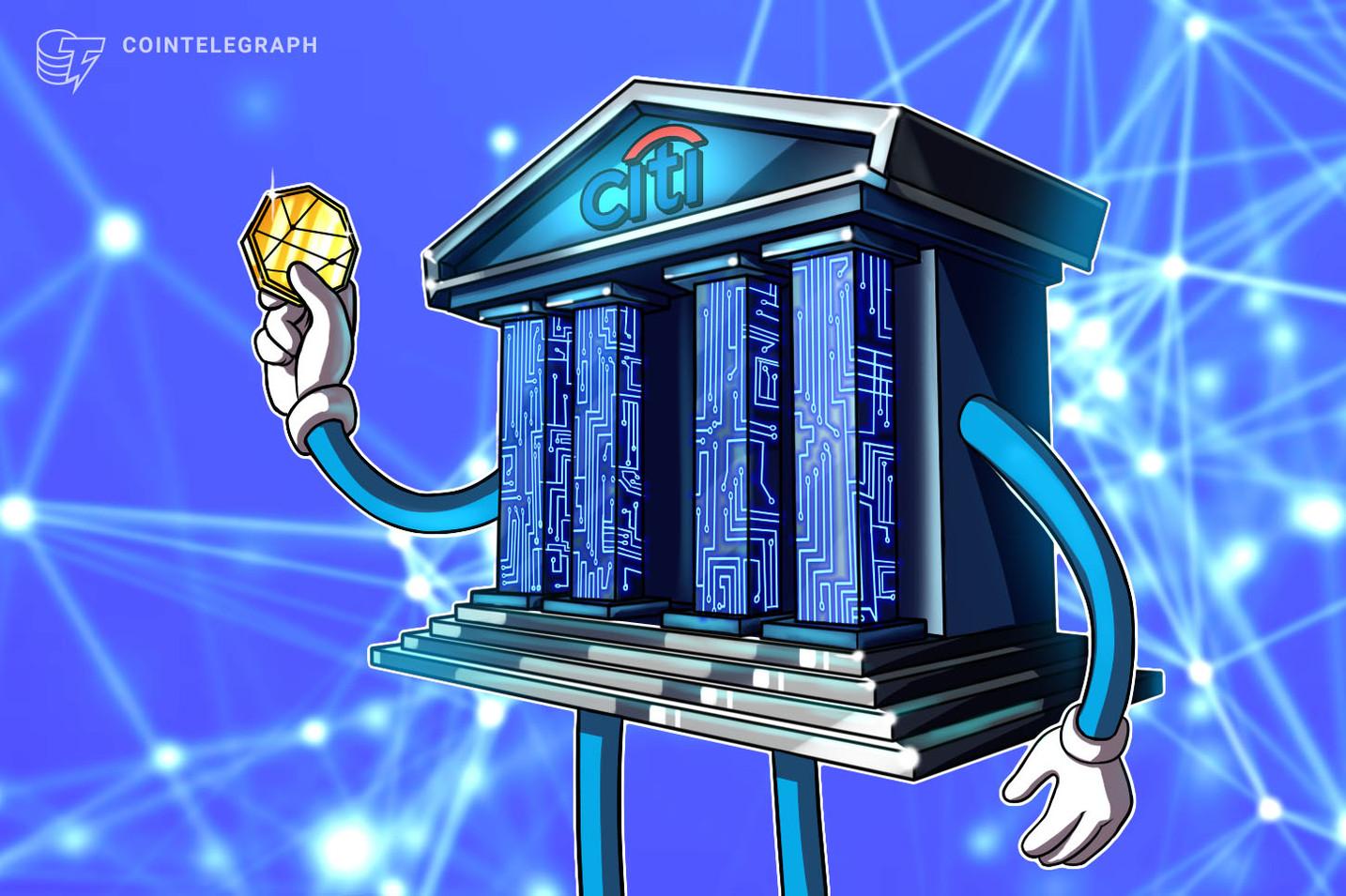 Citigroup potrebbe in futuro offrire servizi crypto per rispondere alla domanda dei clienti