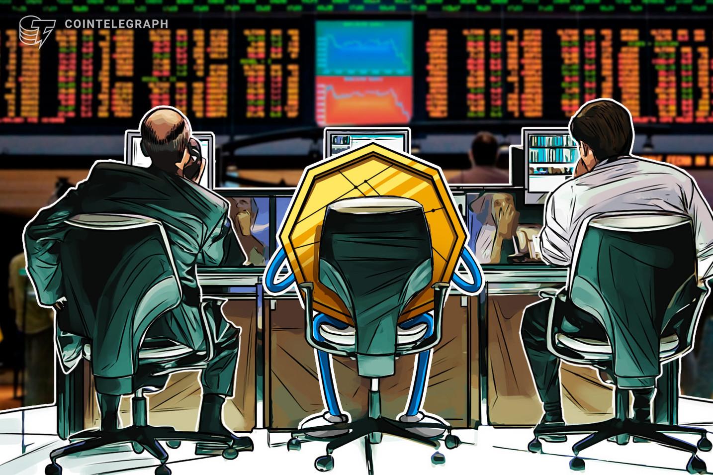 Los traders profesionales compran la caída del precio de Bitcoin mientras los inversores minoristas se lanzan a por las altcoins