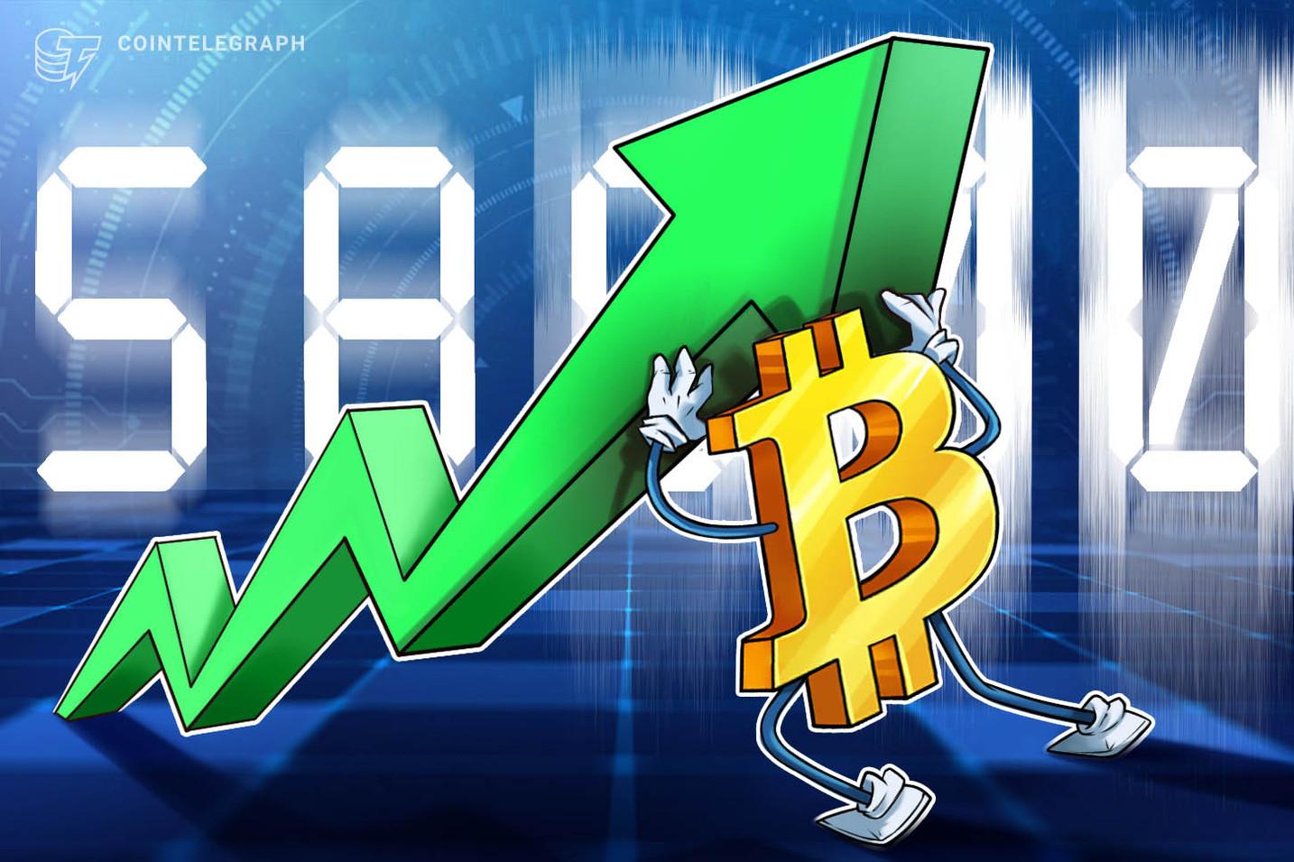 El precio de Bitcoin alcanza los USD 58,000 mientras Dogecoin se estanca y las noticias de adopción animan a los alcistas