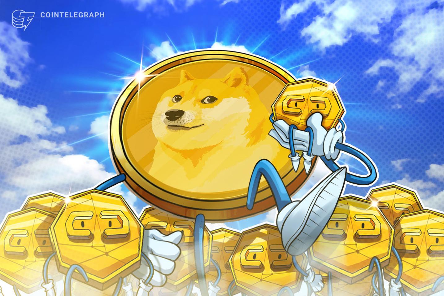 Dogecoin überholt Tether-Marktkapitalisierung nach eToro-Integration
