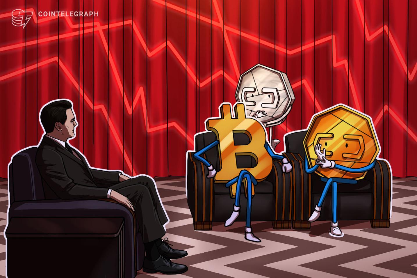 Schlimmer als März 2020? Bitcoin-Kurs rutscht kurz unter 33.000 US-Dollar