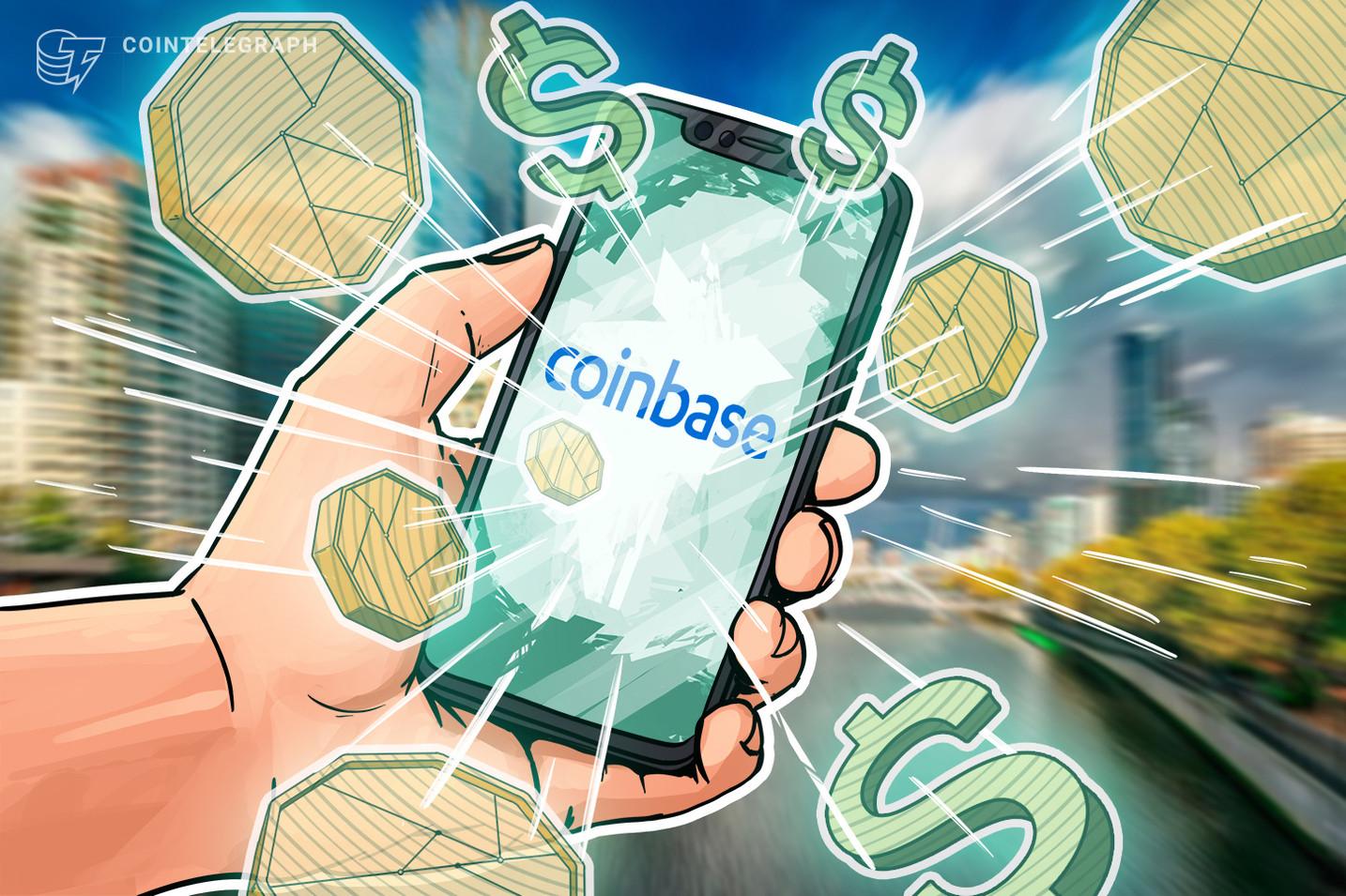 Coinbase überholt TikTok: Platz 1 im Apple App Store in USA