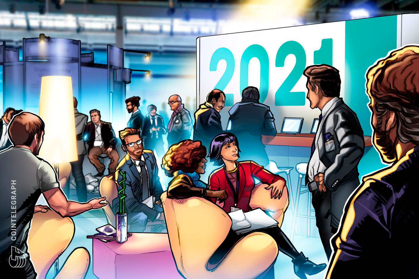 Defying COVID-19: Blockchain events make an in-person return