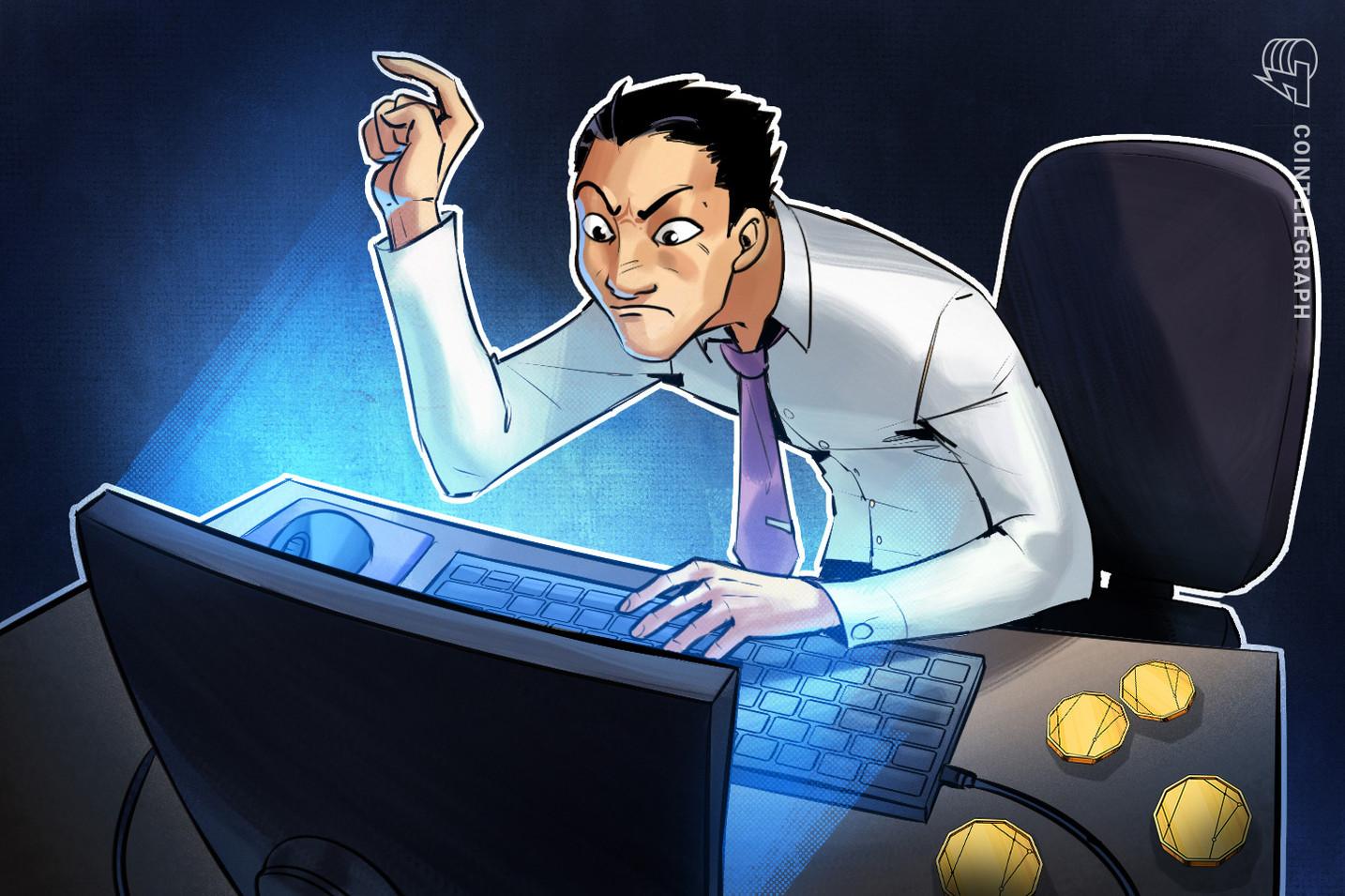 Empregador paga trabalhador em criptomoedas e, em seguida, exige pagamento de volta quando o preço sobe