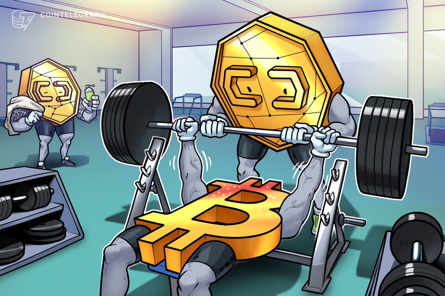 Preço do Bitcoin sobe 40% em um dia, chega aos US$42K, enquanto Cardano e Dogecoin se juntam ao time