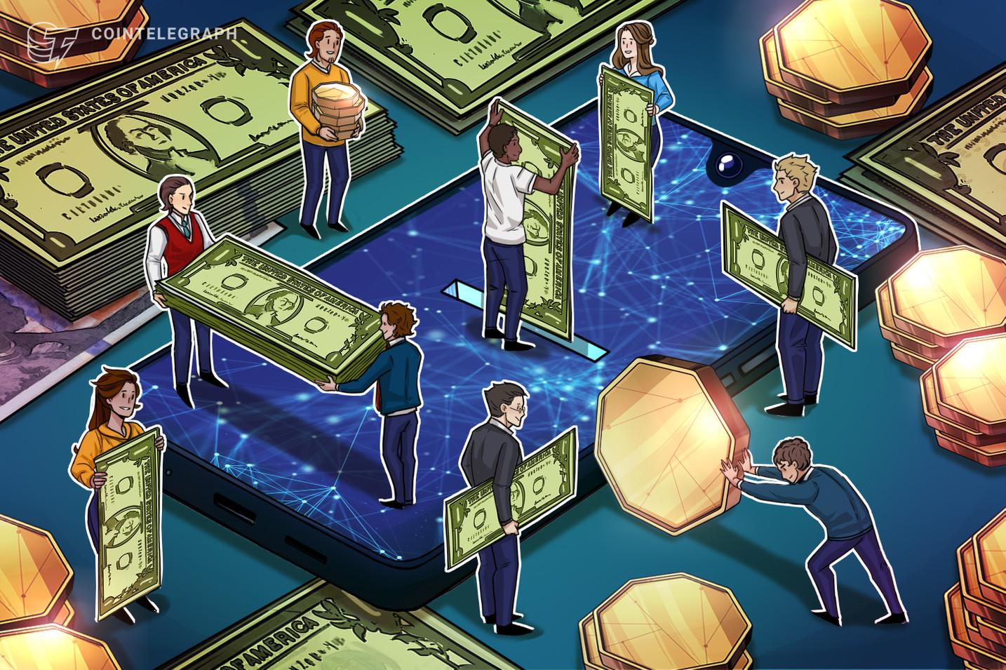 Empresa criadora do USDC ganha investimento de nível recorde de 440 M