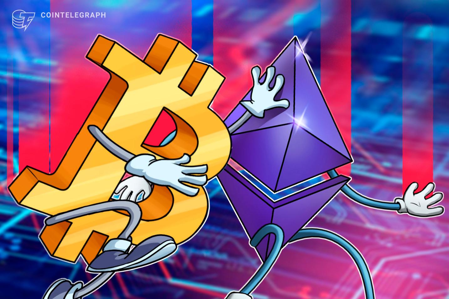Armadilha de alta para o Ethereum? Preço do ETH mostra sinais otimistas em relação ao Bitcoin