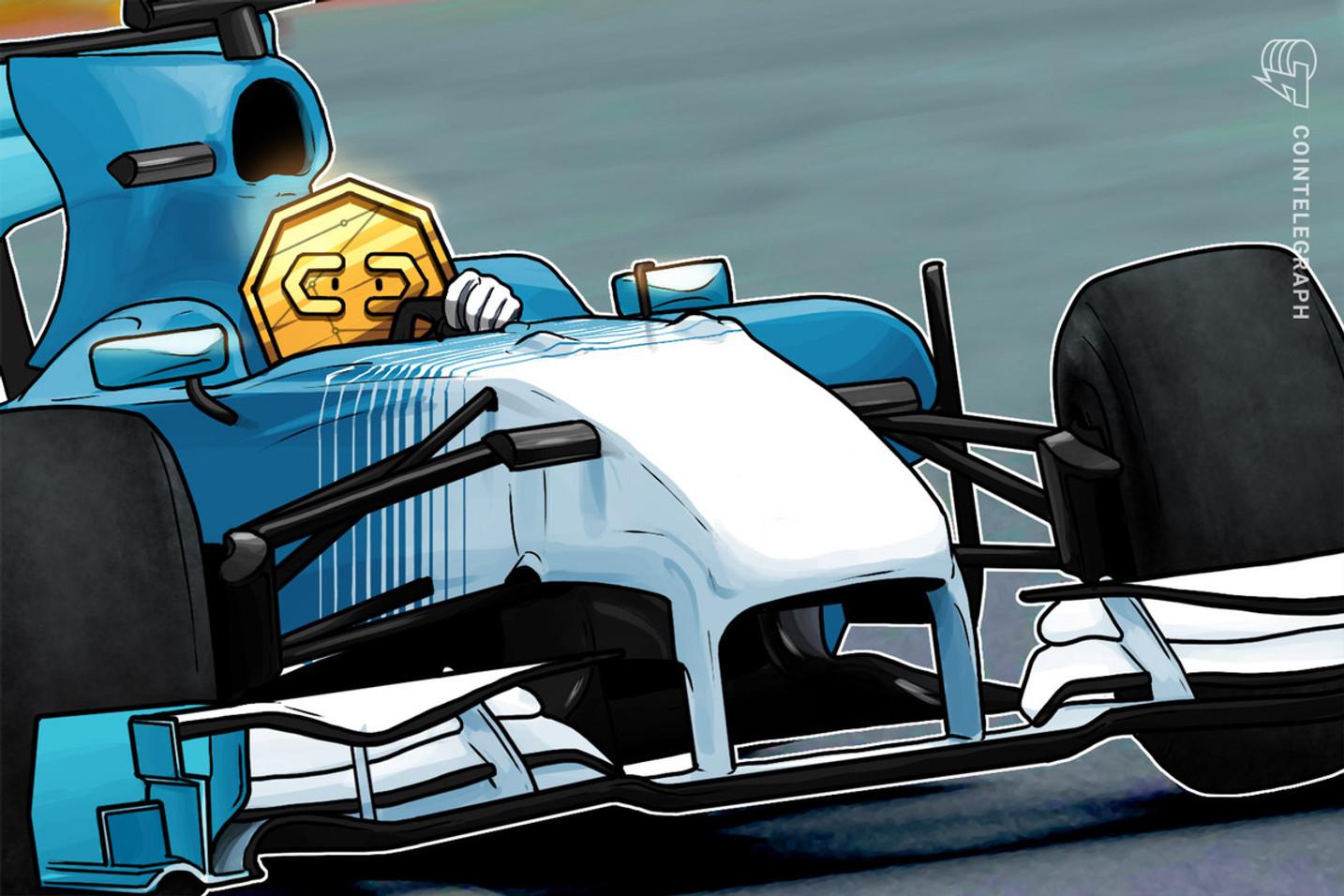 Crypto.com anuncia parceria global com a Fórmula 1