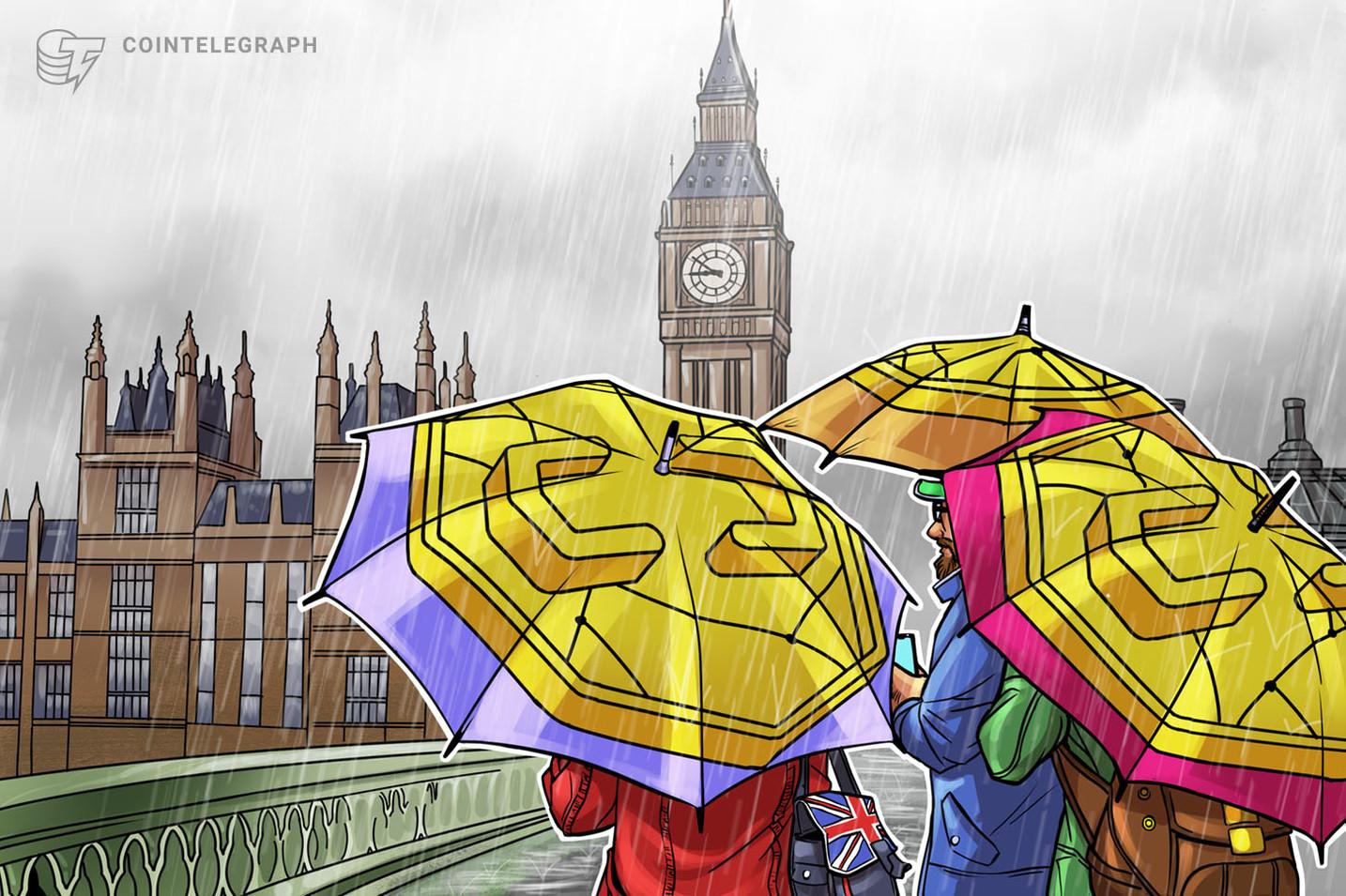 英国で13の仮想通貨企業がライセンス申請撤回