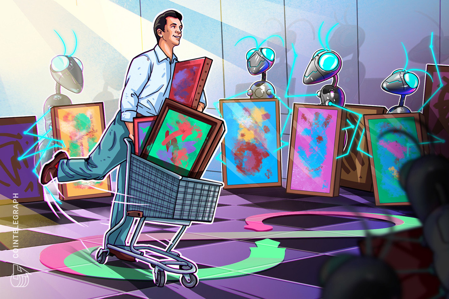 NFT art marketplace extends range with sports and staking partnerships