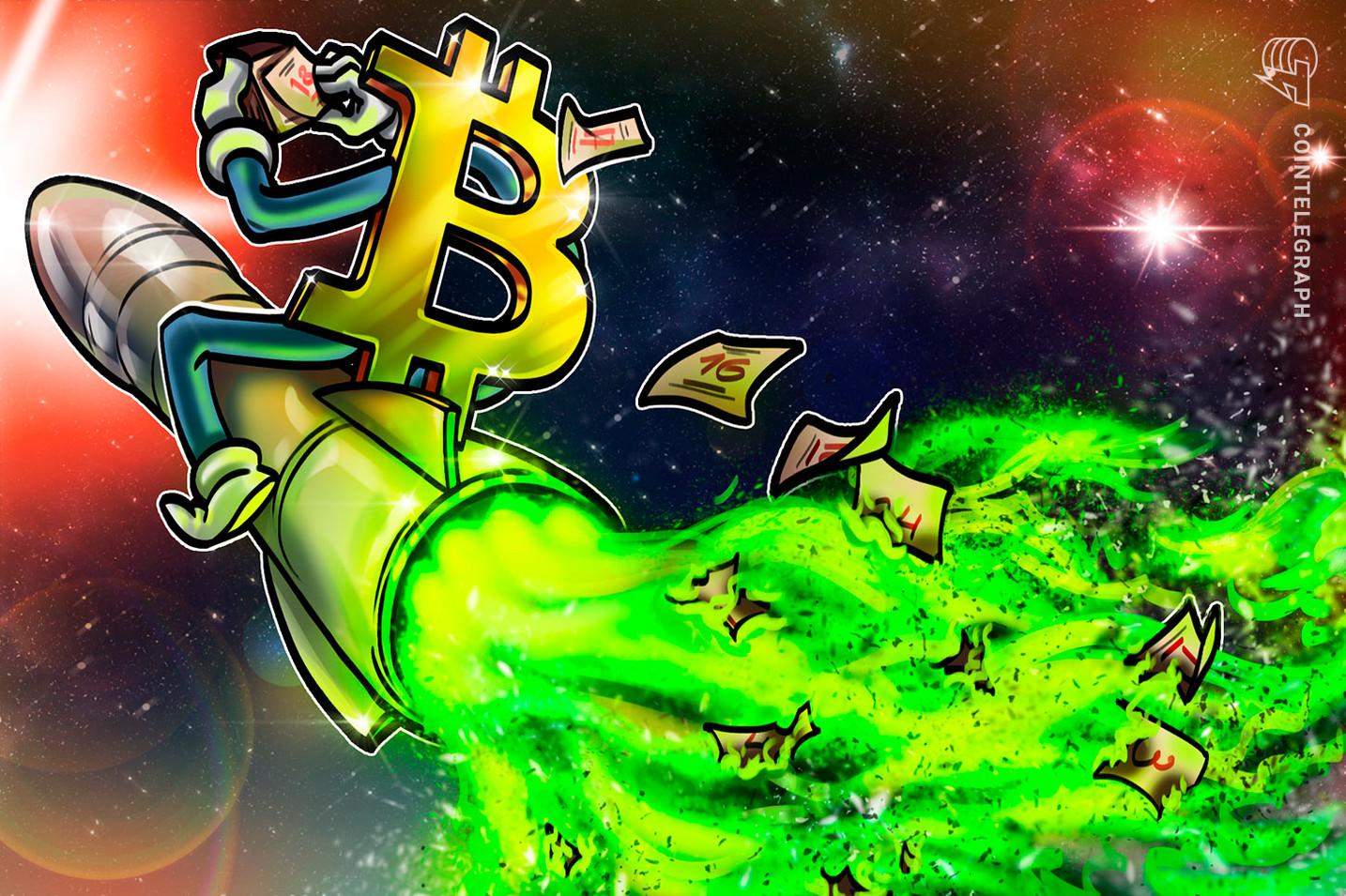 Bitcoin com 'desconto' tem maior probabilidade de atingir $ 100K do que $ 20K em 2021, diz analista da Bloomberg