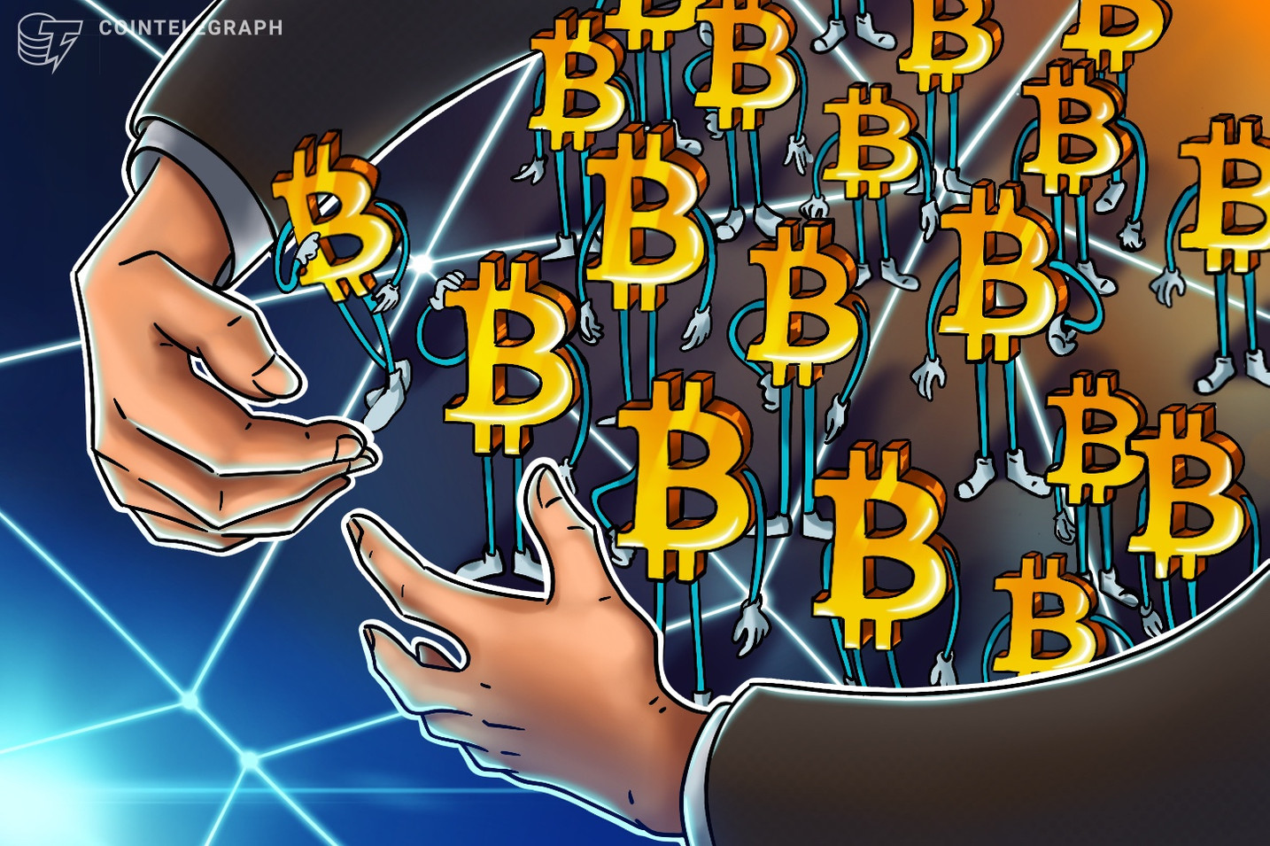 Listed companies, trusts and ETPs now control almost 7% of the Bitcoin supply