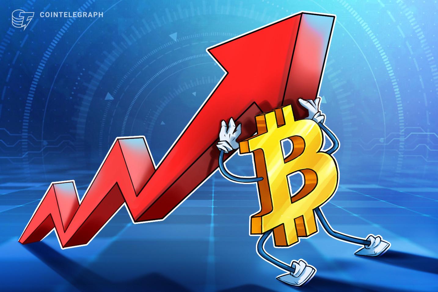 El precio de Bitcoin alcanza los USD 41,000 y luego retrocede después de que los vendedores defendieran la media móvil de 200 días