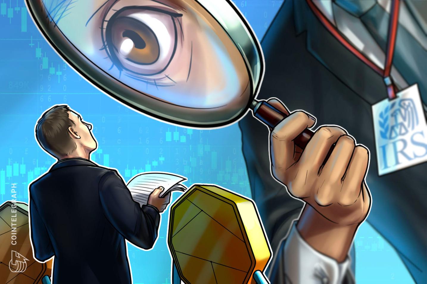 Segundo o chefe do IRS dos EUA, é necessário que o Congresso autorize o gerenciamento de criptomoedas