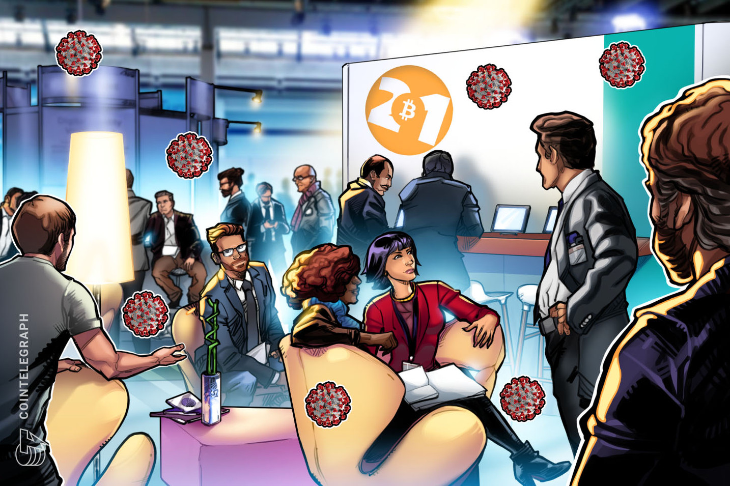 Bitcoin 2021 attendees' positive COVID-19 tests are going viral