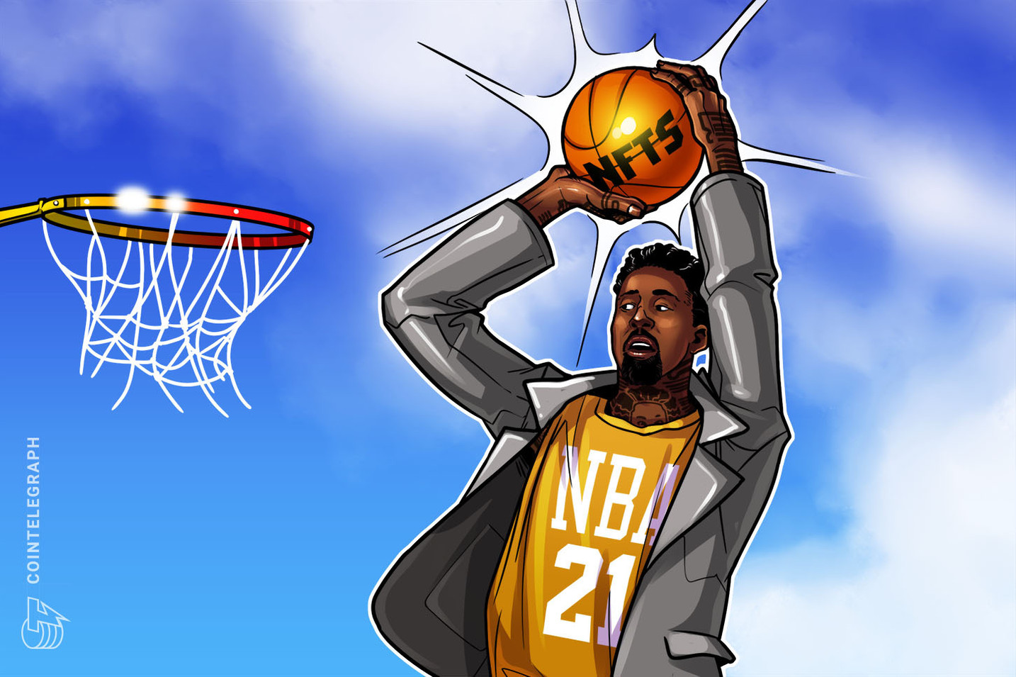 Basketball star turned digital racehorse tycoon: Wilson Chandler on NFTs and the NBA