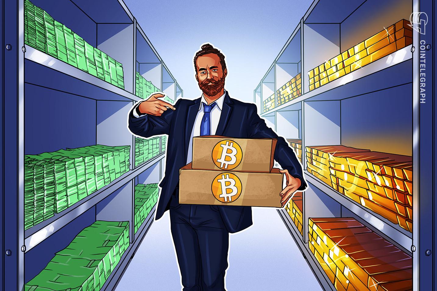 Diversificação com Bitcoin é uma 'estratégia prudente' contra inflação e crash das commodities, diz estrategista da Bloomberg