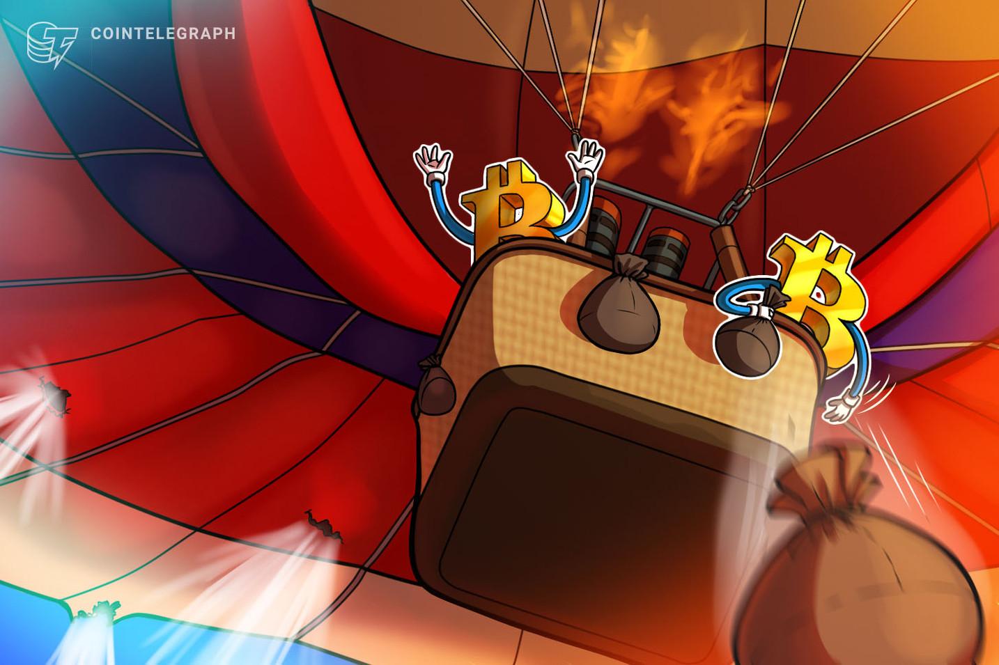 Bitcoin fiyatı 33 bin dolardan sekti!