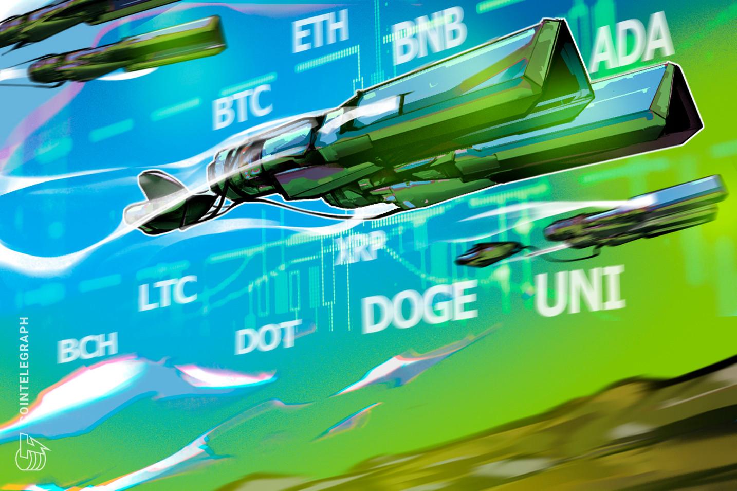 Price analysis 7/28: BTC, ETH, BNB, ADA, XRP, DOGE, DOT, UNI, BCH, LTC