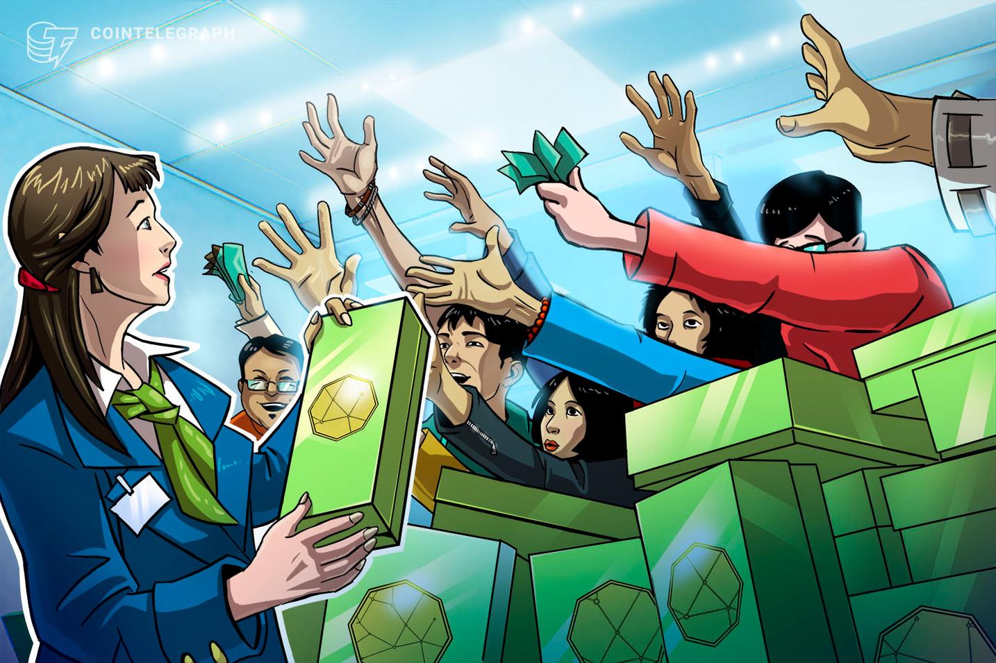 Venda de tokens EFI da Enjin arrecada R$ 100 milhões conforme as aspirações de NFT crescem