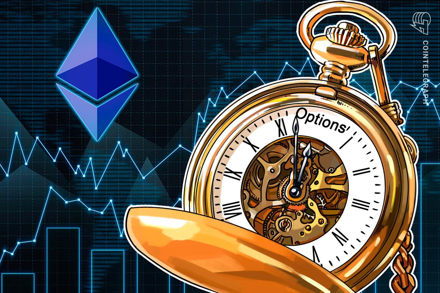 Las opciones de Ethereum de 10,000 dólares han bajado un 88% desde su máximo histórico