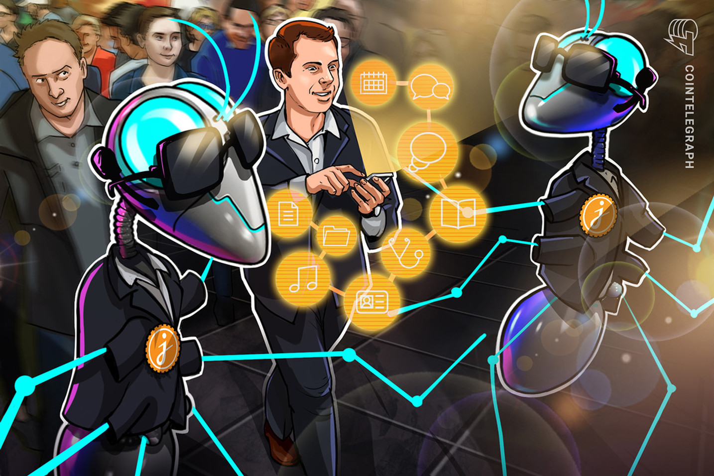 IoT to release even more private data, but blockchain can help take back control