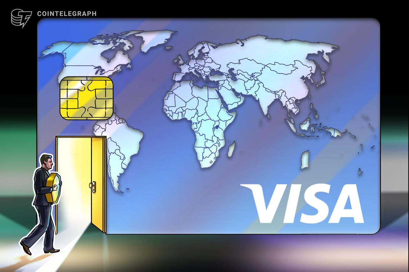 Visa informa mais de R$ 5,25 bilhões em gastos com cripto no primeiro semestre