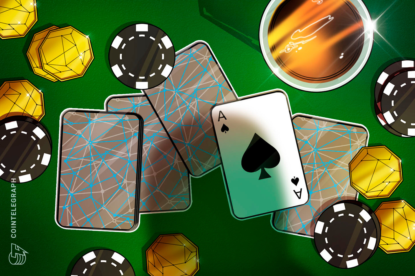 Ethereum network congestion temporarily shuts down crypto gaming casino