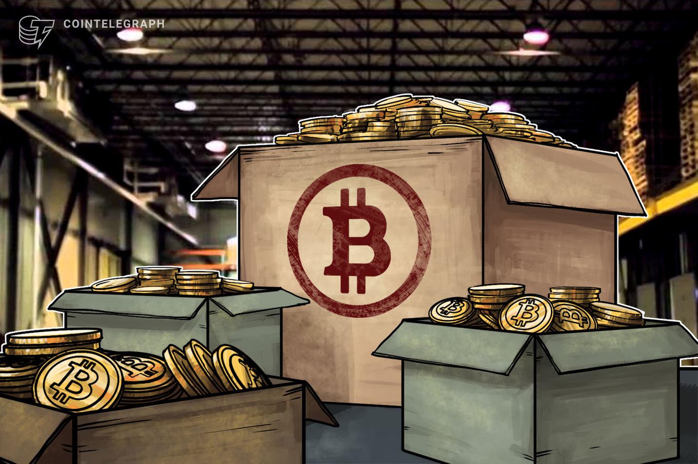 Grandi hodler accumulano Bitcoin: transazioni da oltre 1 milione di dollari raddoppiate in un anno