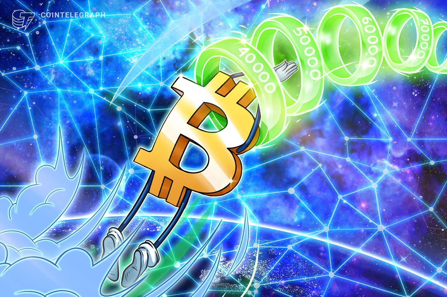Continua la corsa di Bitcoin verso i 50.000$, sostenuto da un forte interesse istituzionale