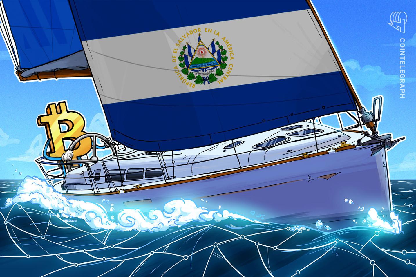 El Salvador compra os primeiros 200 BTC, confirma o presidente Bukele