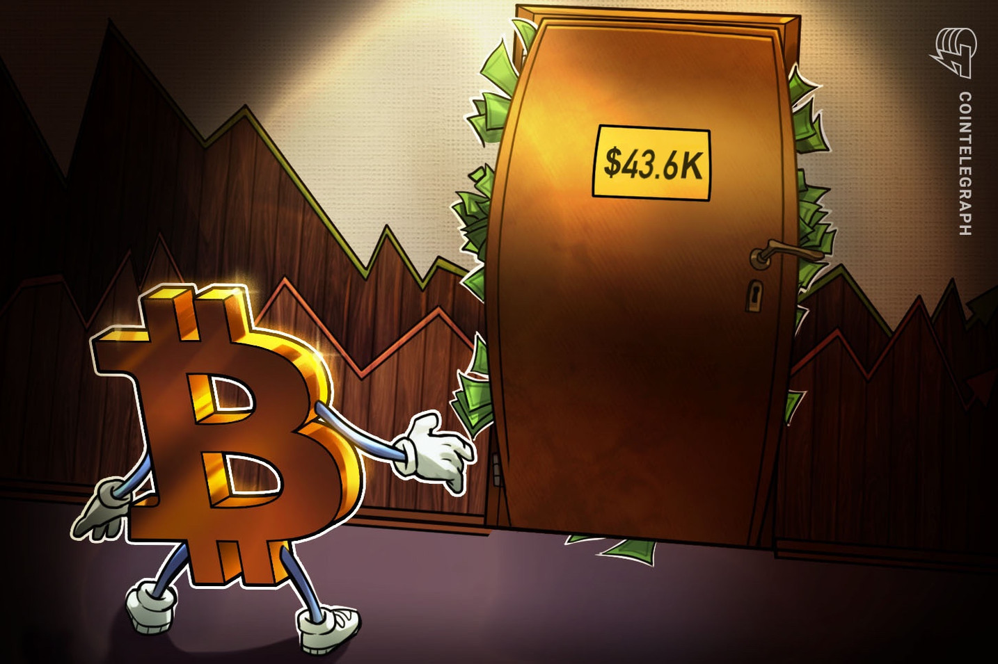 Traders say Bitcoin's bullish bias will only be confirmed by a close above $44K