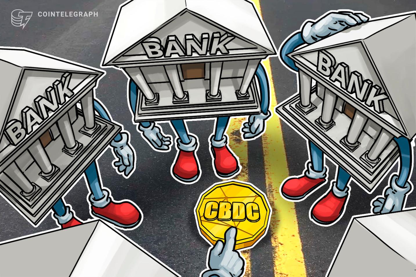 CEO do HSBC defende moedas digitais nacionais contra criptomoedas e stablecoins