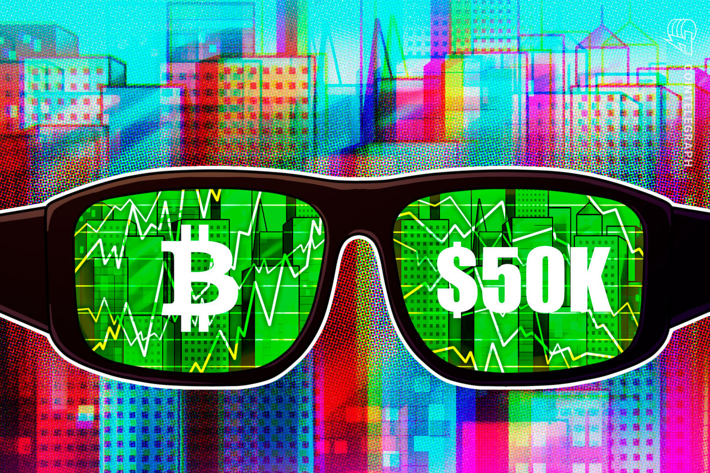 Bitcoin taps $50K for first time in one month amid heavy BTC price volatility