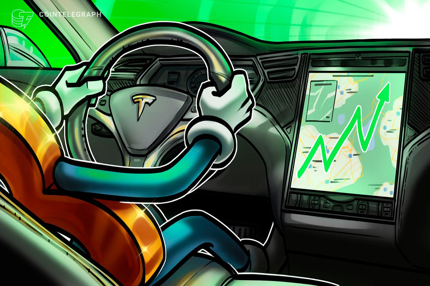 Tesla di Elon Musk ha già guadagnato un miliardo di dollari conservando Bitcoin