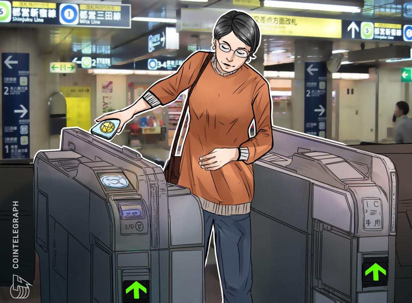 Cashless-Bound: Japan's Transport and E-Commerce Partnership on the Fast Track