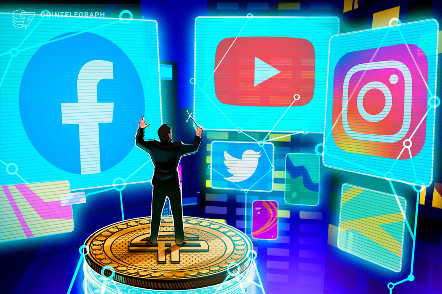 Blockchain Firm's DApp for Ads Now Available on Facebook and Twitter
