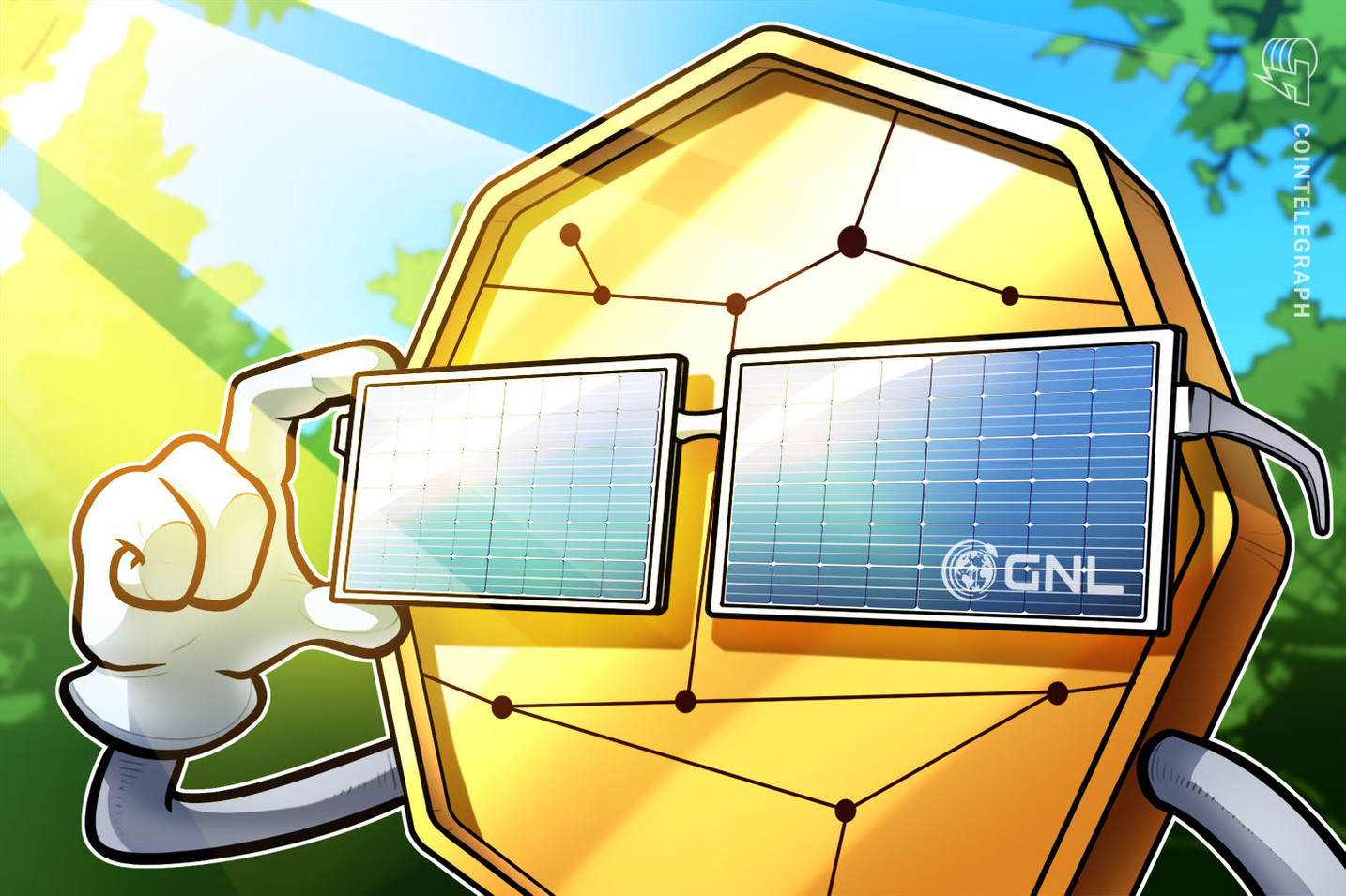 This project wants its crypto token to be the source of renewable energy creation
