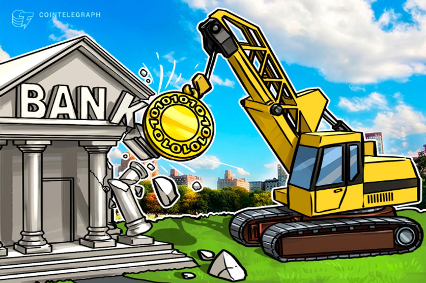 ¿Por qué los bancos están en problemas? ¿Por las criptomonedas?