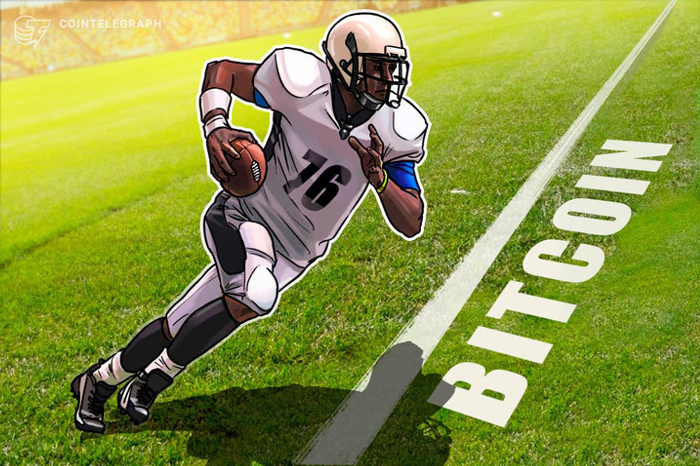 Un jugador de la NFL ya ha ganado 8 millones de dólares tras invertir la mitad de su sueldo en Bitcoin