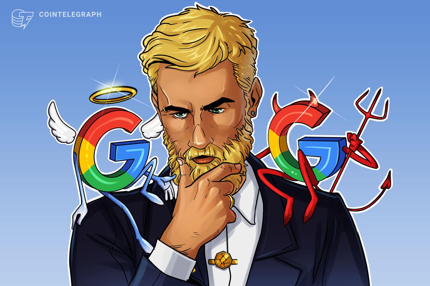 Comunidade de criptomoedas cria petição contra suposta censura do Google
