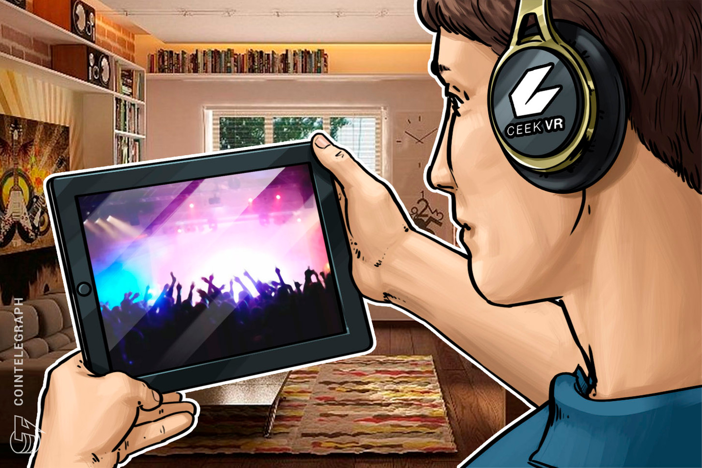 Company Enables Artists to Sell Unlimited Concert Tickets by Using Blockchain-Powered VR